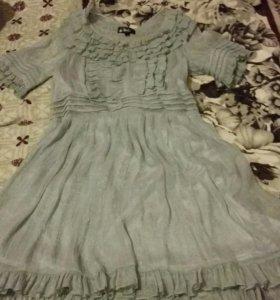 Платье шифон р.46-48