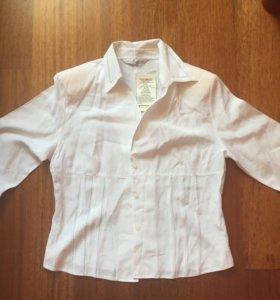 Блузка белая  новая 48-50