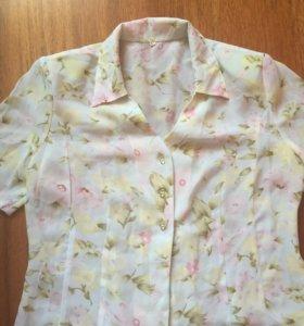 Блузка летняя женская 48-50