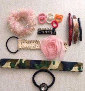 Резинки/заколки для девочки
