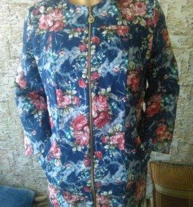 Продам пиджак удлиненный