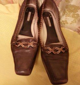 Туфли р. 40 Salmaso натур. кожа