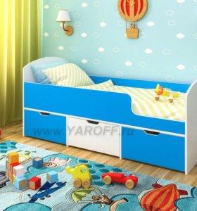 Детская Кровать малыш мини