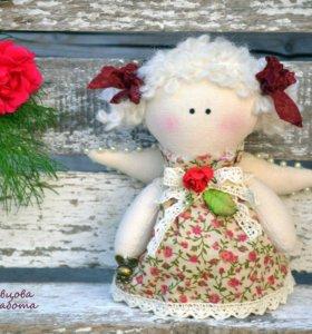Кукла ручной работы - Цветочная феечка