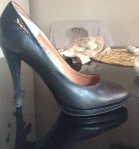Черные туфли размер 35,5-36