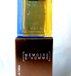 Nina Ricci Memoire5 edt. men Раритет