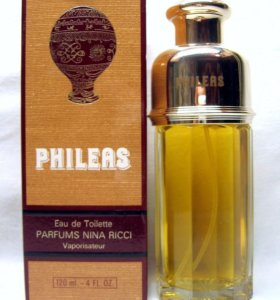 Nina Ricci Phileas 120 ml. edt. men (Винтаж)