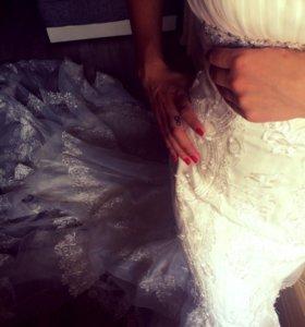 "Свадебное платье тип ""рыбка, русалочка"""