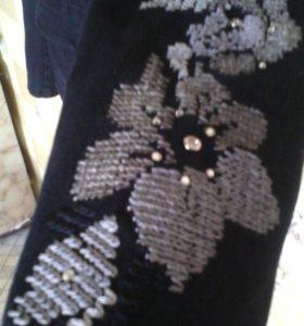 Джинсовый пиджак 46 р-р