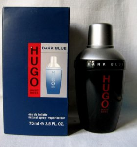 Hugo Boss Dark Blue (75) edt Men. Раритет