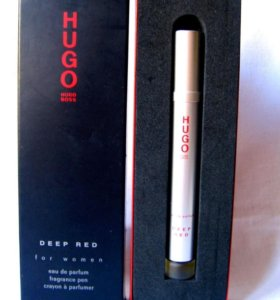 Hugo Boss Deep Red (4.4) edp roll. Раритет