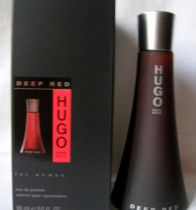 Hugo Boss Deep Red (90) edp women. Раритет