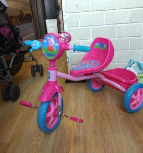 Трехколесный велосипед Свинка Пеппа
