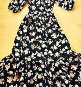 Платье из искусств. Шелка