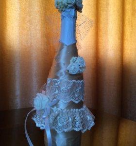 """Бутылка шампанского """"Невеста"""""""