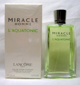 "Miracle Homme L""aquatonic (125) edt men. Раритет"