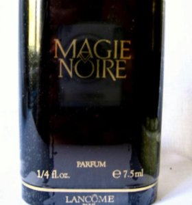 Lancome Magie Noire (7.5) parfum. Винтаж