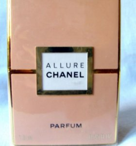 Chanel Allure (7.5) parfum. Раритет