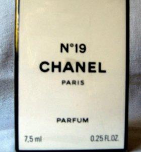 Chanel N19 (7.5) parfum. Раритет