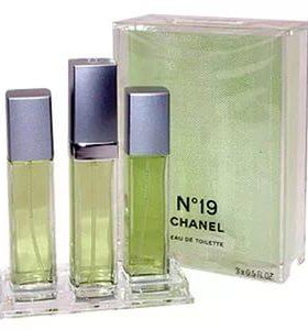 Chanel N19 (3x15) edt women. Раритет