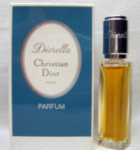 Christian Dior Diorella (7.5) parfum. Винтаж