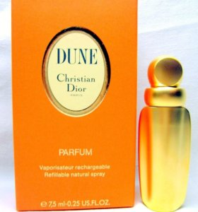Christian Dior Dune (7.5) parfum. Раритет