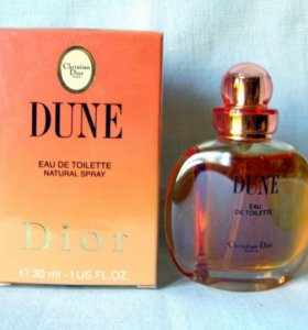 Christian Dior Dune (30) edt women. Раритет