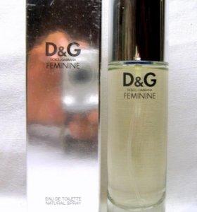 Dolce Gabbana Feminine (100) edt women. Раритет