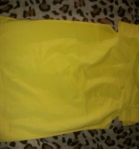 Блуза желтая