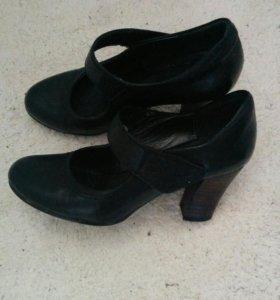 Туфли кожаные 34-35