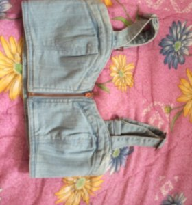 Топ джинсовый новый