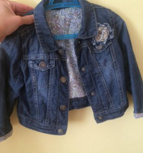 Джинсовая курточка на 1,5- 3 года