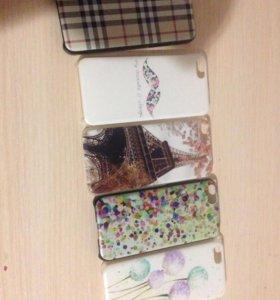 Айфон 5с чехлы