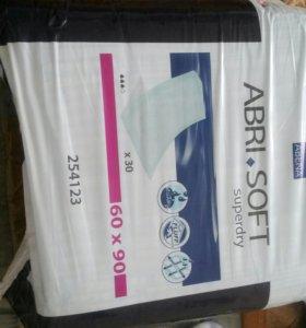 Продам пеленки 60×90  недорого(цена за шт)
