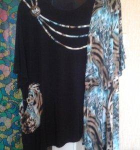 Женская блузка 66 размера