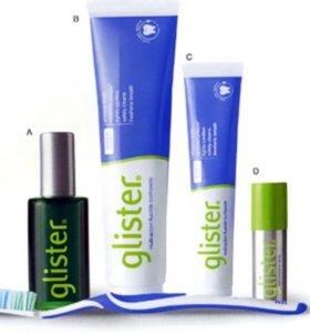Зубная паста glister большая