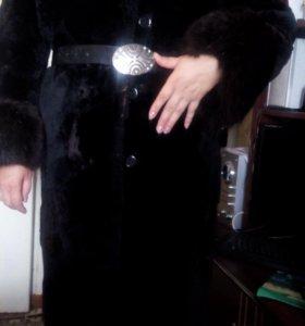 Шуба мутоновая размер 50-52
