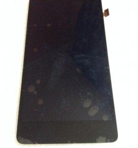 Lenovo S860 black-модуль (дисплей) оригинал