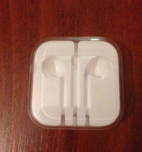 Упаковка от наушников Apple
