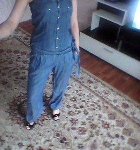 Костюм джинсовый.