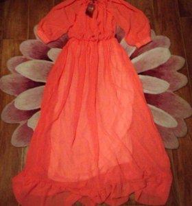 Новое шифоновое платье 44-48