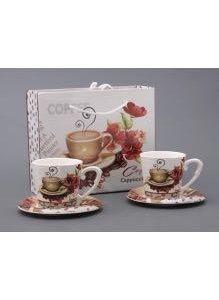 Подарочный чайный набор фарфоровый