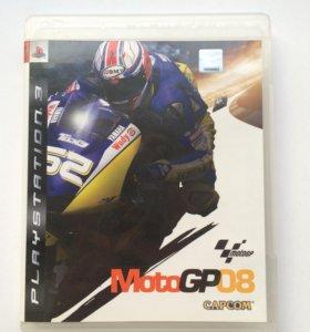 """Игра на PlayStation 3 """"MotoGP08"""