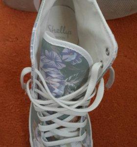 Ботинки на платформе на лето-осень-весна. Р. 40