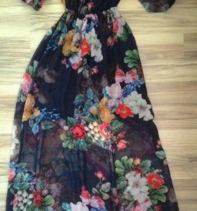 Платье в пол 44р