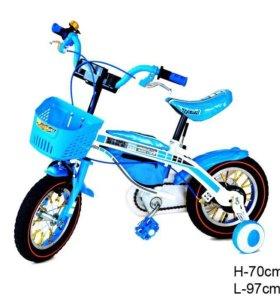 Новый велосипед.