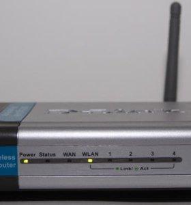 Роутер ( маршрутизатор) D-link dl-524 wi-fi