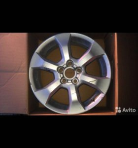 Литой диск тойота RAV4