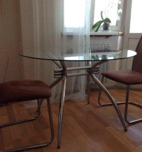 Гарнитур стол и 2 стула
