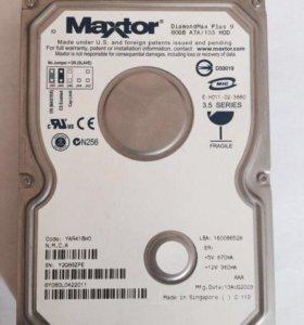 """Жесткий диск 80 Gb Maxtor IDE 3.5"""""""